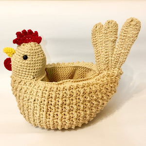 Easter egg holder hen