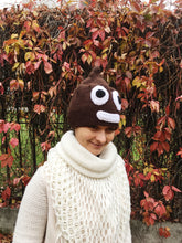 Load image into Gallery viewer, Crochet poop hat