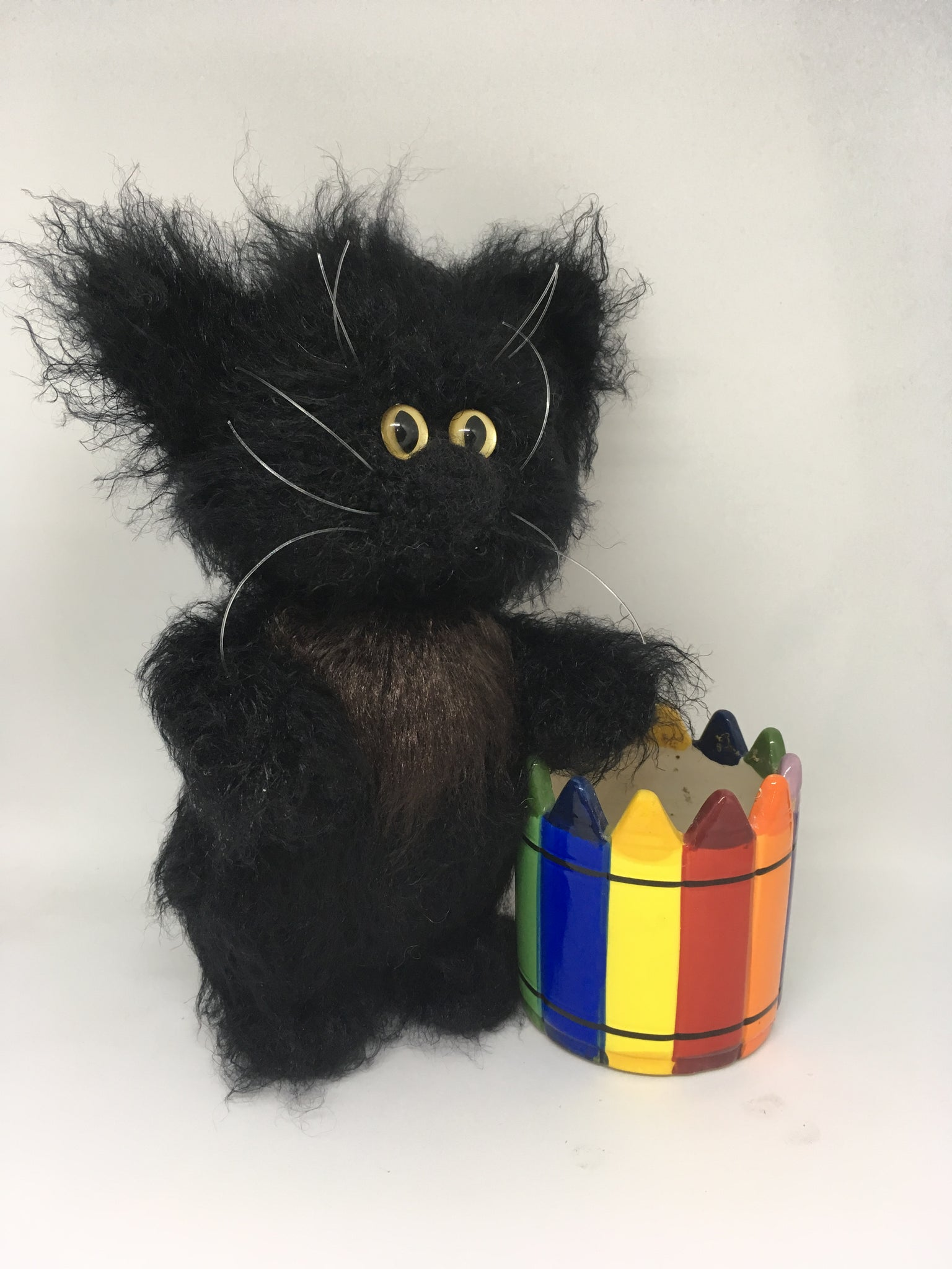 Crochet Amigurumi Black Cat - Free Patterns | Stricken und häkeln ... | 2048x1536