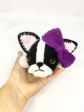Load image into Gallery viewer, Amigurumi boston terrier