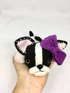 Amigurumi boston terrier
