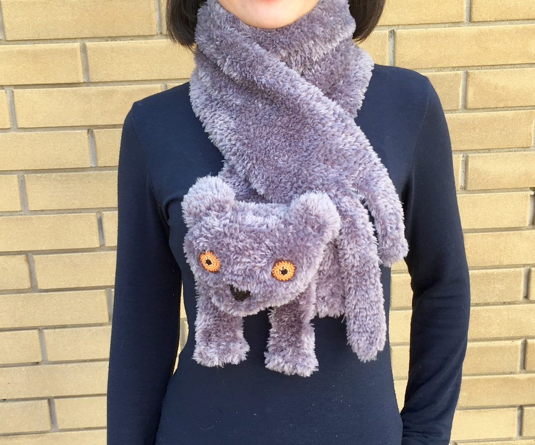 British shorthair cat scarf