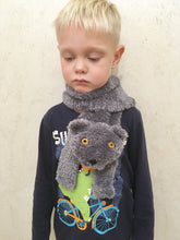 Load image into Gallery viewer, Childrens British shorthair cat scarf