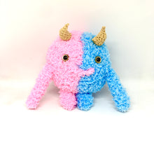Load image into Gallery viewer, Pink and blue monster