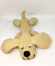Load image into Gallery viewer, Amigurumi beige dog