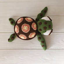 Load image into Gallery viewer, amigurumiturtle1