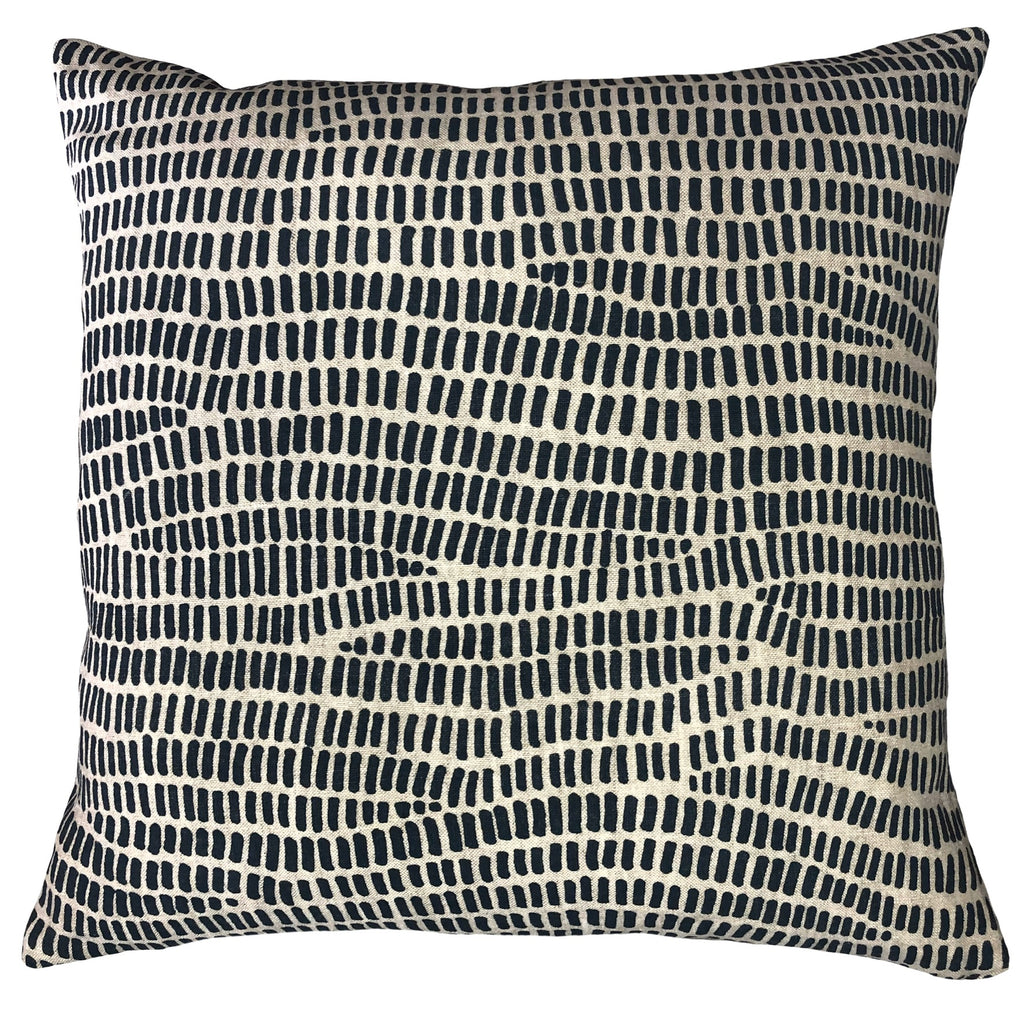 Bella Blue Cushion Cover by Chil and Co.