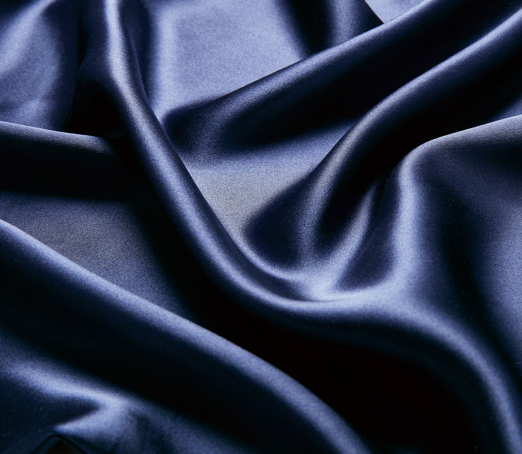 Navy 40momme Mulberry Silk Pillow Cases