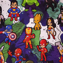 Load image into Gallery viewer, Cartoon Heroes - 20oz Fabric Tumbler