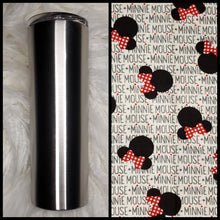 Load image into Gallery viewer, Minnie Heads - 20oz Fabric Tumbler