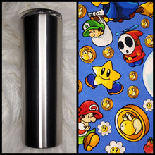 Load image into Gallery viewer, Baby Mario - 20oz Fabric Tumbler