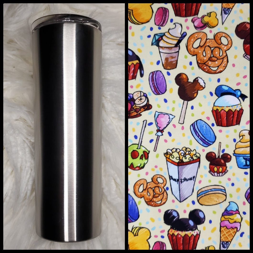 Snack Time  - 20oz Fabric Tumbler