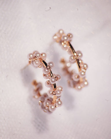 Pearl Twirl Earrings
