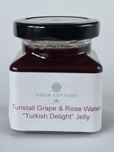 "Load image into Gallery viewer, Small Tunstall Grape and Rose Water ""Turkish Delight"" Jelly"