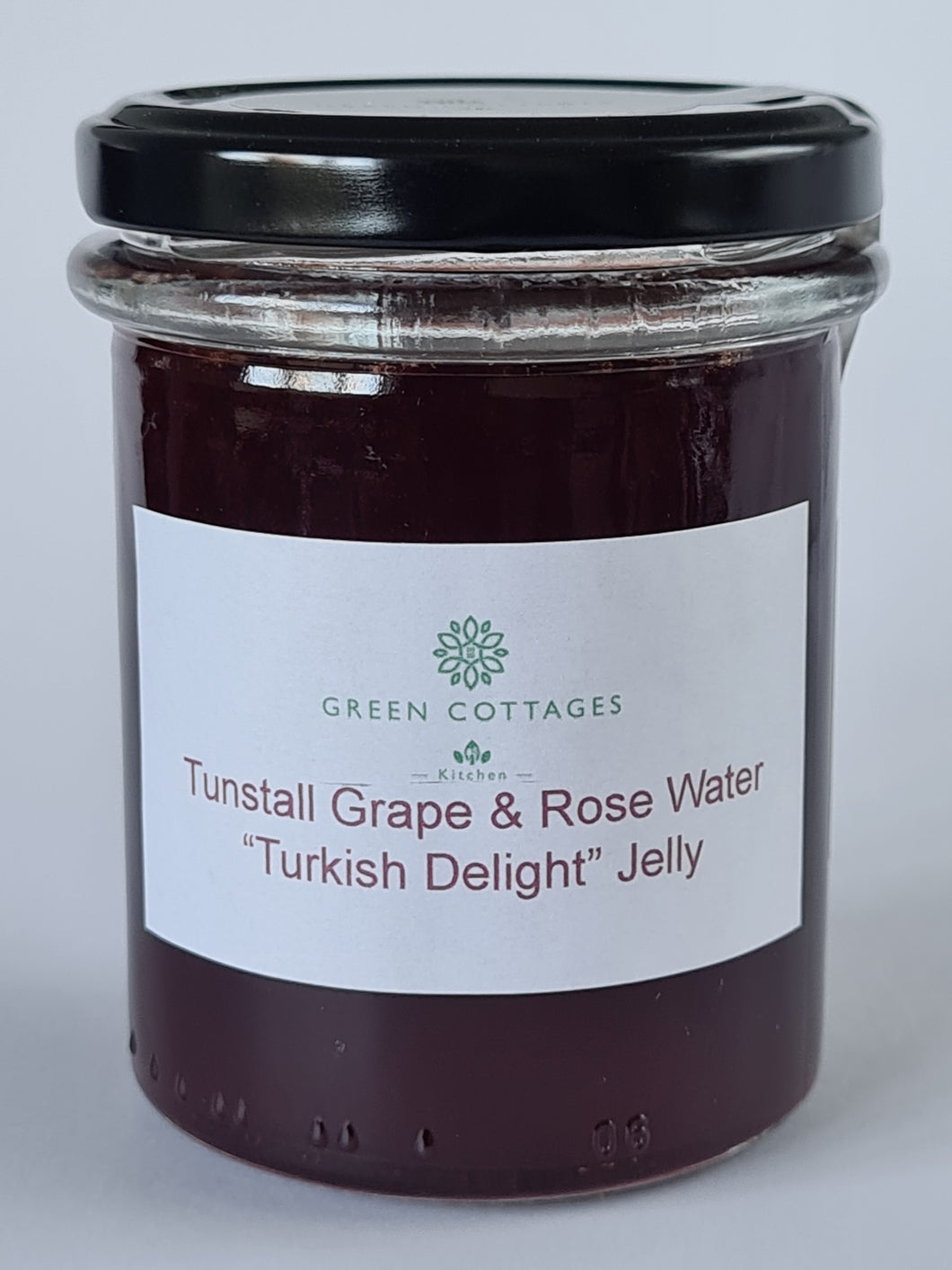 "Tunstall Grape and Rose Water ""Turkish Delight"" Jelly"