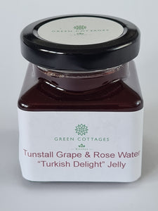 "Small Tunstall Grape and Rose Water ""Turkish Delight"" Jelly"