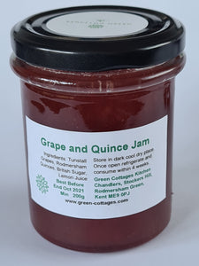 Grape and Quince Jam