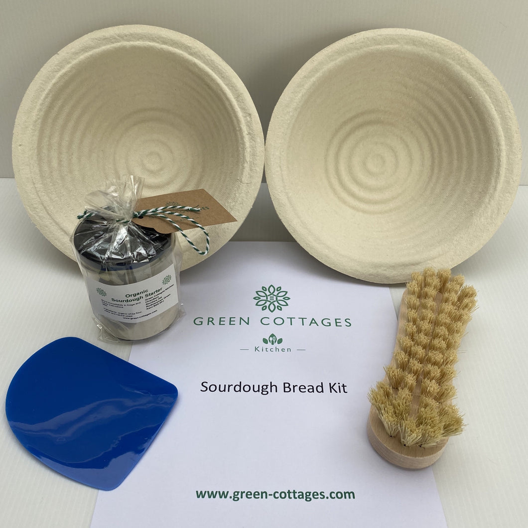 Deluxe Round Ribbed Sourdough Baking Kit