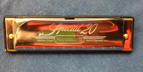 R. Sleigh Special 20 harmonicas with overblows on 4, 5, and 6 (50% deposit)