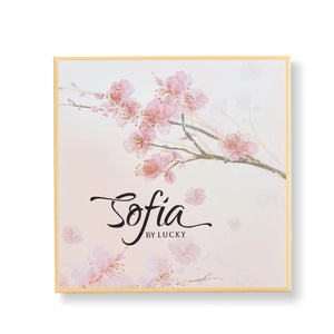 Sofia by Lucky Blooming Blushes Eye Shadow Pallet