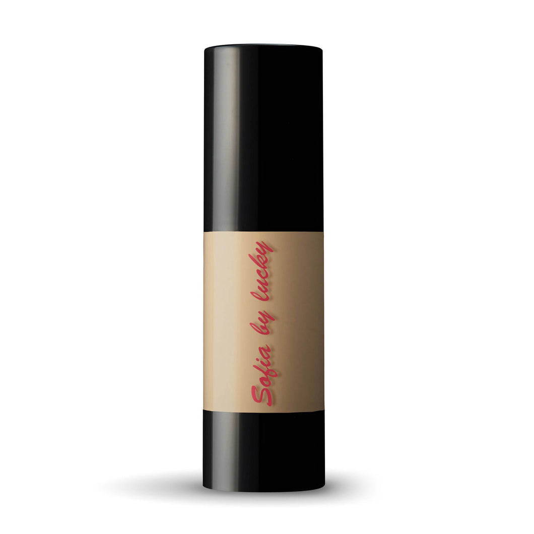 Sofia by Lucky Liquid Foundation - Light Beige #3