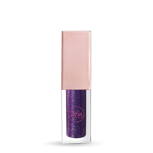 Sofia by Lucky Metallic Liquid Eye Shadow - Purple #13