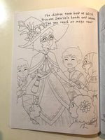 The Witch Princess Coloring Book