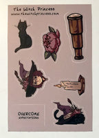 Witch Princess Sticker Sheet