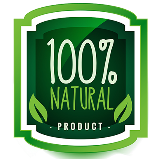 100% Natural Product - Large