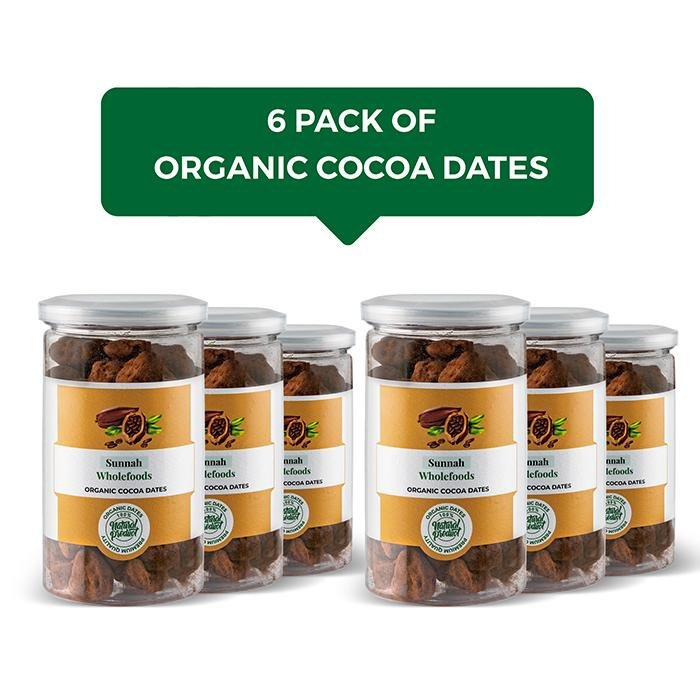 Ultimate Organic Cocoa Date 6 Pack
