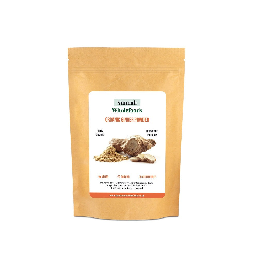 Organic Ginger Powder 200g