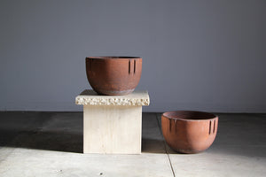 1930s Bauer Terracotta Indian Pots - A Pair