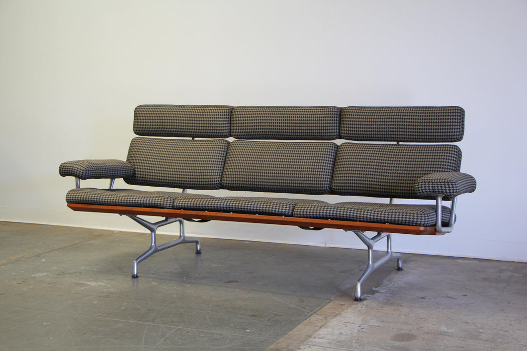 Eames Model ES108 Sofa in Alexander Girard Fabric - 1980s