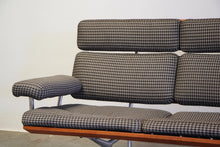 Load image into Gallery viewer, Eames Model ES108 Sofa in Alexander Girard Fabric - 1980s