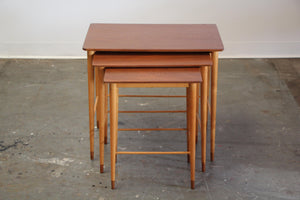 Grete Jalk Two-Tone Nesting Tables