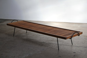 Low Table or Bench by William Katavolos, Ross Littell and Douglas Kelley, 1949