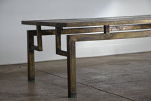 "Load image into Gallery viewer, Philip & Kelvin Laverne Bronze ""Chin Ying"" Coffee Table, 1960s"