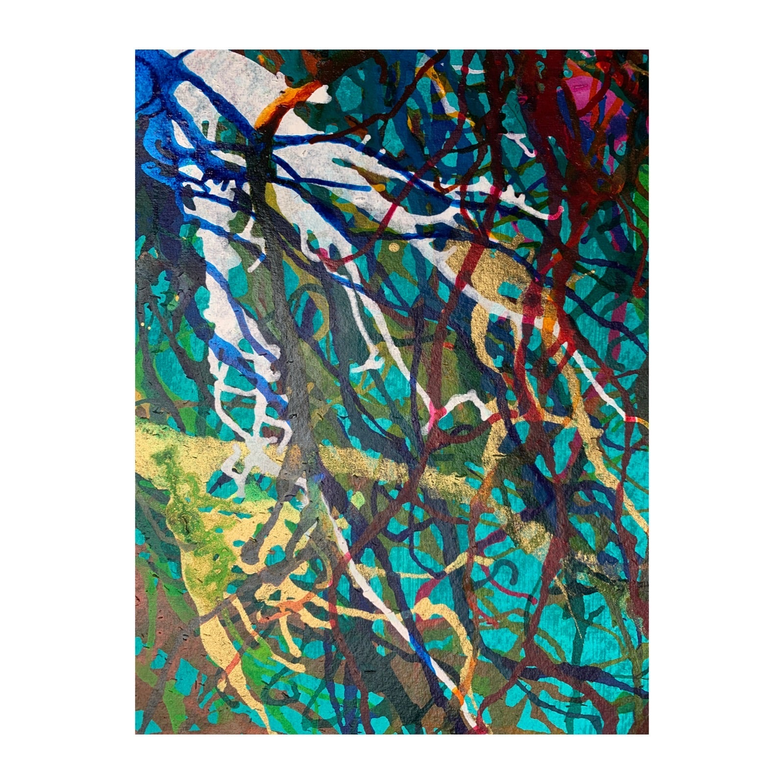 Despite Everything, Abstract Art Print