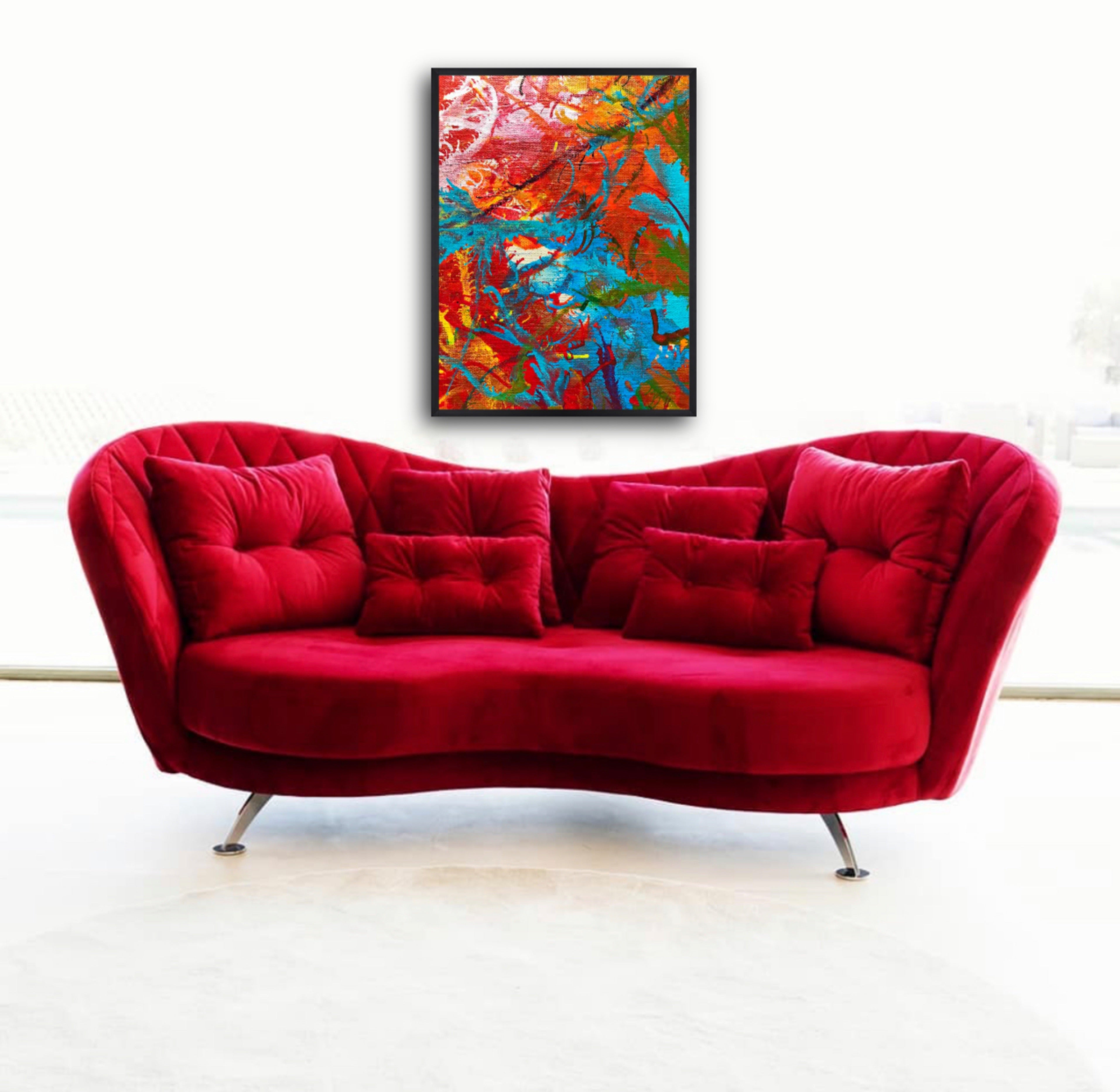 Adrenaline, Part 1 - Limited Edition, Abstract Art Print