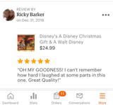 A Disney Christmas Gift on DVD