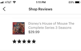 Disney's House of Mouse The Complete Series 3 Seasons with 52 Episodes on 3 Blu-ray Discs