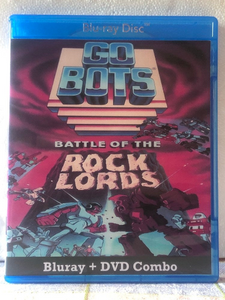 GoBots Battle of the Rock Lords 1986 Blu-ray and DVD Combo Set