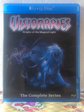 Visionaries Knights of the Magical Light The Complete Series with 13 Episodes on Blu-ray