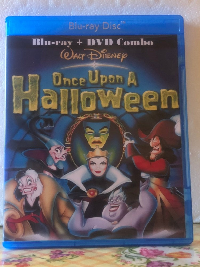 Disney's Once Upon A Halloween Blu-ray & DVD Combo Set