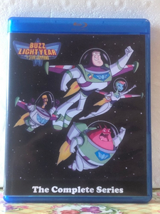 Disney's Buzz Lightyear of Star Command 2 Seasons with 65 Episodes on 3 Blu-ray Discs