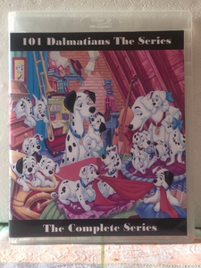 101 Dalmatians the Series the Complete Series 2 Seasons with 65 Episodes on 5 Blu-ray Discs in 1080p HD