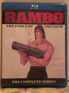 Rambo The Force of Freedom the Complete Series all 65 Episodes on 3 Blu-ray Discs