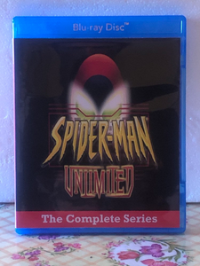 Spider-Man Unlimited Complete Animated Series on Blu-ray 1999