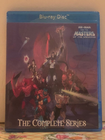 He-Man and the Masters of Universe 2002 The Complete Series 2 Seasons with 39 Episodes on 2 Blu-ray Discs
