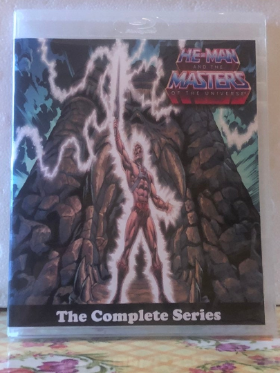 He-man and The Masters of the Universe 2 Seasons with 130 Episodes on 6 Blu-ray Discs